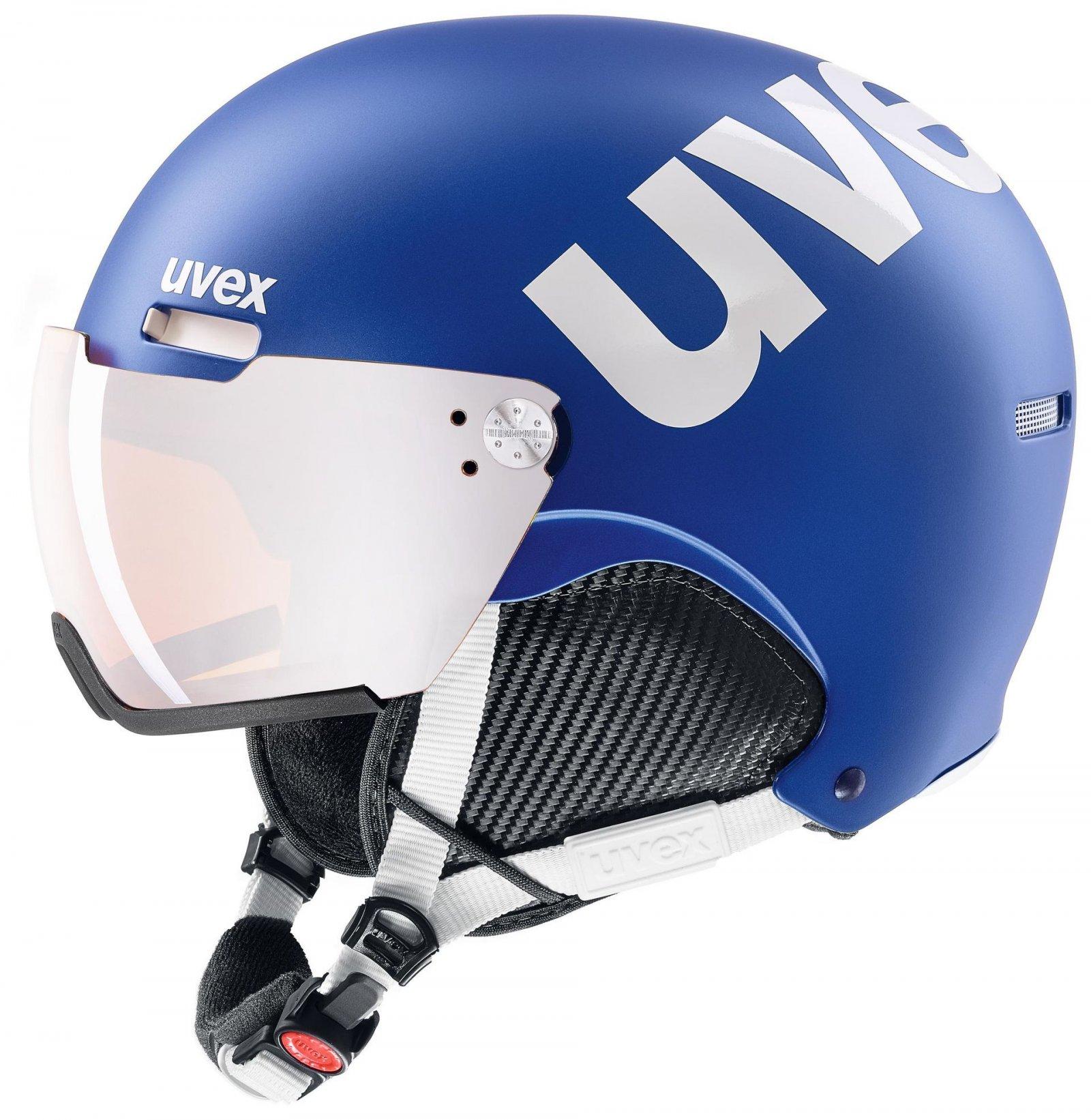 Ski helmet UVEX hlmt 500 visor 20/21