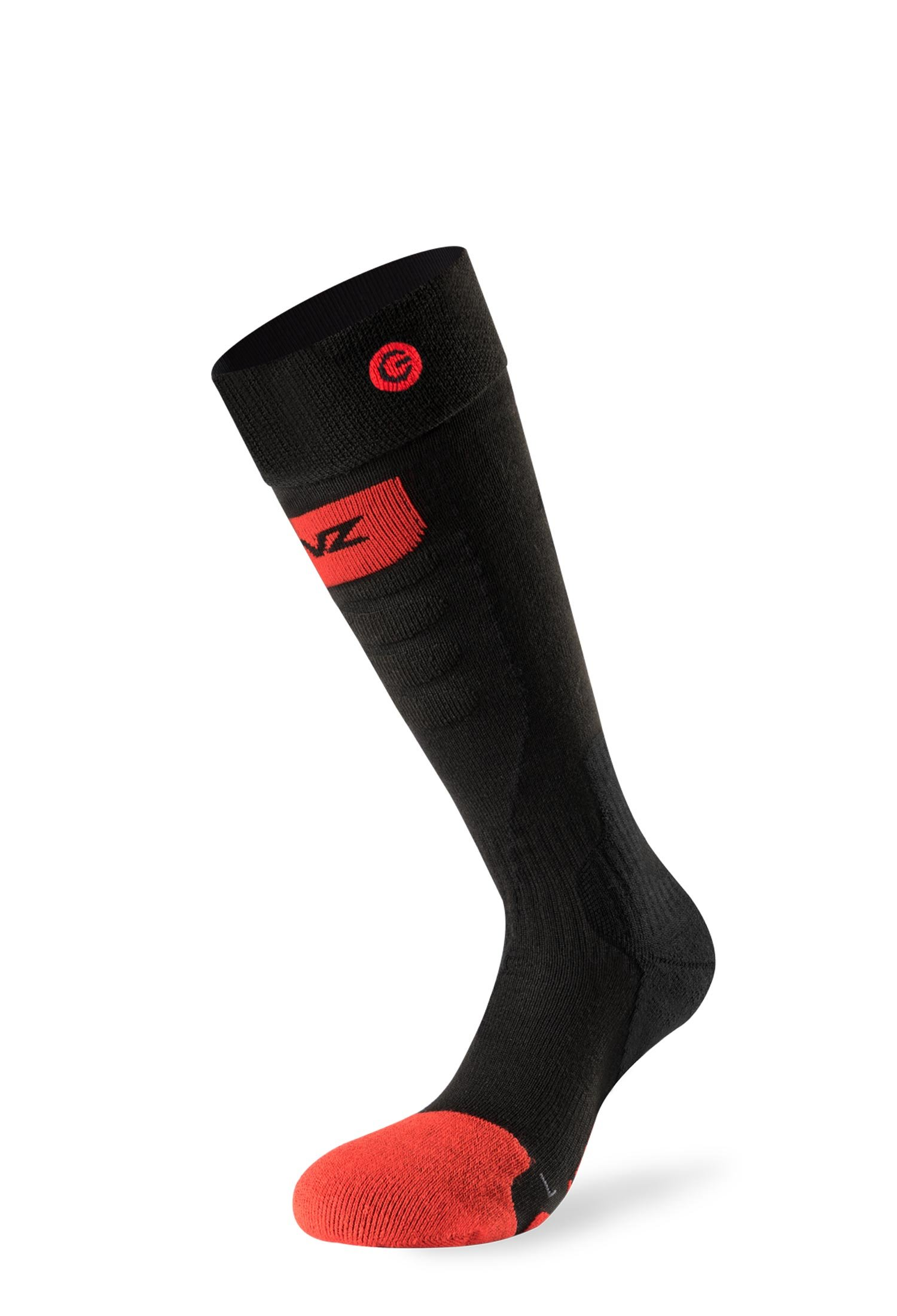 LENZ Heat Socks 5.0 Toe Cap Slim Fit